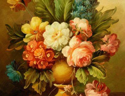 Cuadros modernos cuadros de flores y plantas x ramo de - Ramos de flores modernos ...