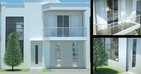 Casa moderna minimalista dise o de interiores prado verde - Diseno minimalista interiores ...