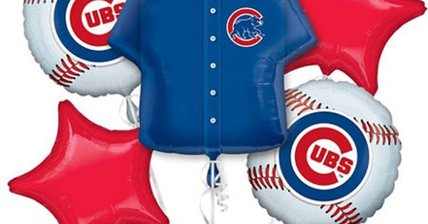 Mlb Chicago Cubs Party Supplies Party City Birthday