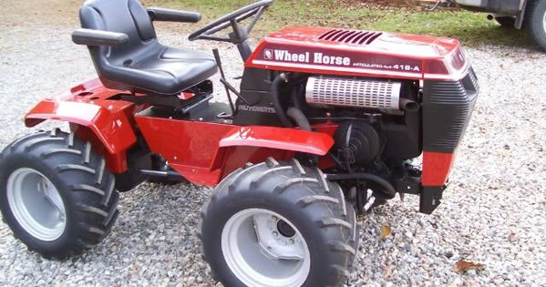 Garden Tractor 4x4 Modifications 4x4 Wheel Horse