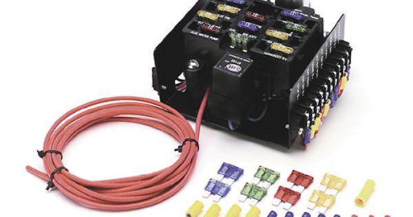 12 Circuit Compact Universal Fuse Block 4197 148 00 Circuit Fuses Universal