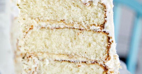White Cake with Almond Buttercream | Dessert | Pinterest | Moist White ...