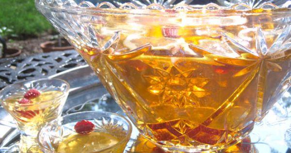 Basic Lemon Raspberry Rum Punch | Recipe | Rum Punches, Punch and Rum
