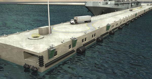Concrete Honeycomb Structure Floating Load Terminal