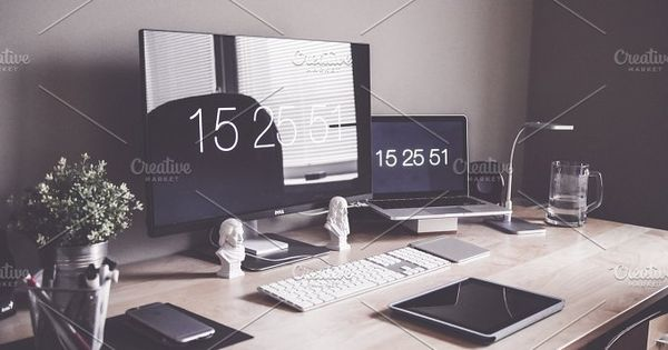 Minimalist Home Office Workspace