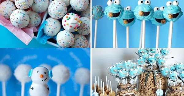 Some cute cake pop ideas