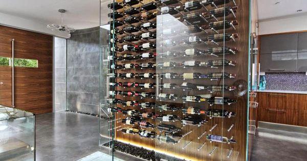 Arquitectura de casas tipos de bodegas para instalar en su hogar estantes de vino - Estantes para vinos ...