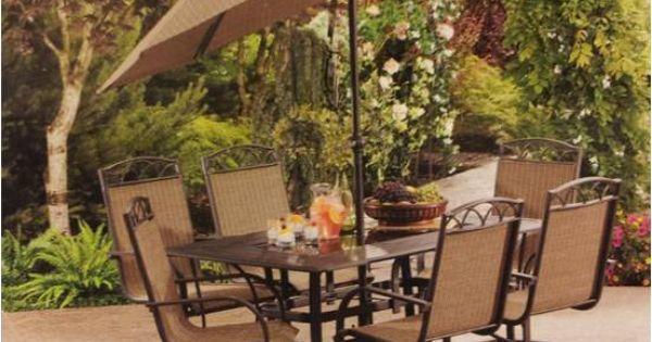 Kroger Outdoor Furniture Sale Harrington 7 Piece Dining