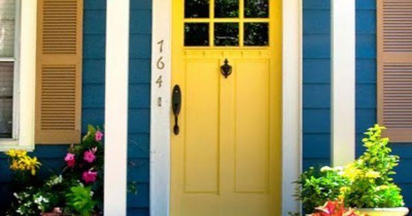 Happy Yellow Door Decisive Yellow Sherwin Williams
