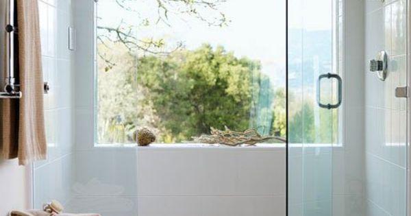 indoor outdoor shower bathroom pinterest indoor