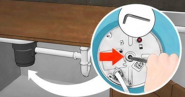 Unclog A Garbage Disposal With Images Garbage Disposal Unclog