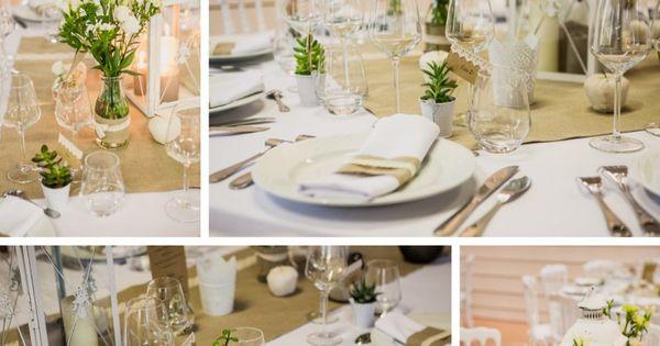 ... Mariage  Pinterest  Décoration de mariage, Dentelle et Deco mariage