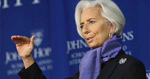 Christine Lagarde International Monetary Fund Imf Directeur General Cameroun Directeur