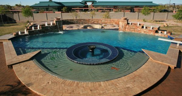 Phoenix Az Swimming Pool Builder And Remodeling True Blue Pools Outdoor Living Pools