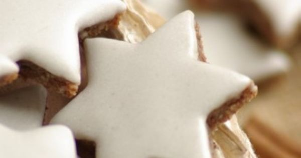 Zimtsterne or cinnamon star cookies are very traditional cookies during advent and