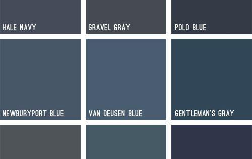 blue house exterior colors