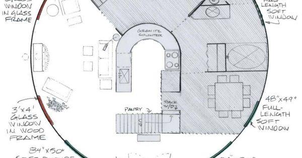 Yurt floor plans applegate retreats pinterest for Yurt building plans