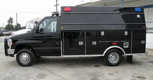 09 ford e450 modular truck great for swat fbi command for Garage ford belley 01