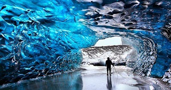 Crystal Cave- CARITAS (Crystal Ice Cave, Skaftafell National Park, Iceland)