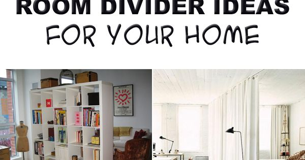 10 room divider ideas for your home studio apartment apartments and studio. Black Bedroom Furniture Sets. Home Design Ideas