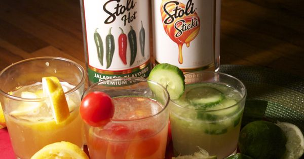 Stoli mixed drinks