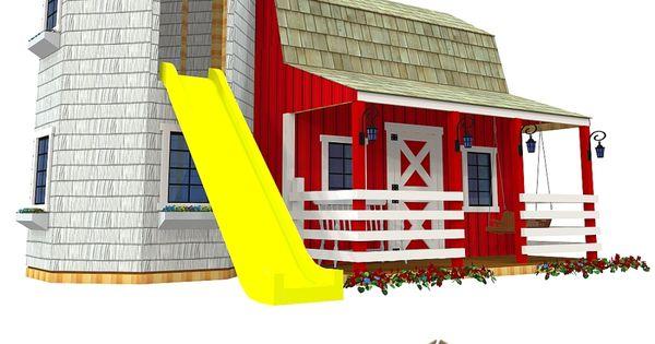 Barn silo playhouse plan hus och inspiration for Barn and silo playhouse