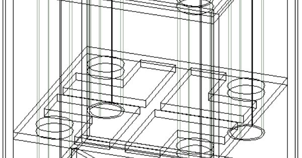 Cad & Wireframe Drawings