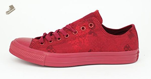 Converse Chuck Taylor All Star Men Ct Jaquard Ox C Chili Paste