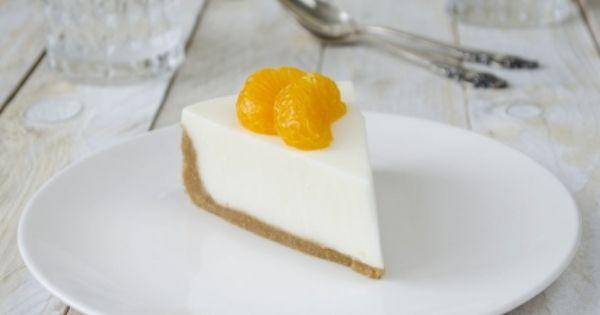 تشيز كيك الزبادي بالصور Recipe Desserts Dinner Party Desserts Cheesecake