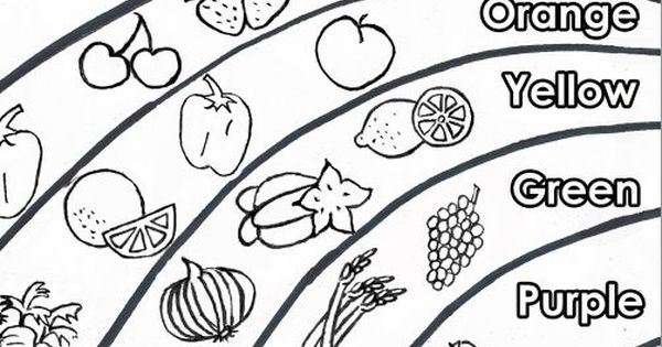 Sure You Eat A Rainbow With This Downloadable Coloring