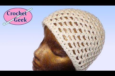 How To Crochet A Lightweight Crochet Mesh Cap Crochet Geek