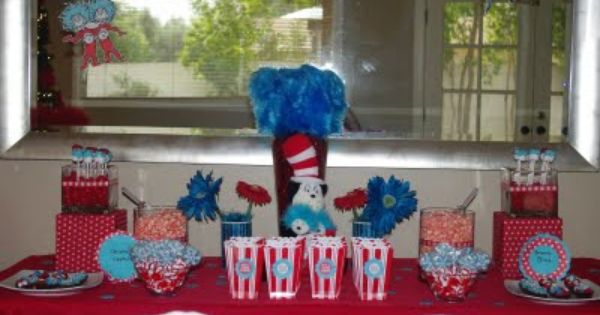 christmasy dr. seuss party ideas