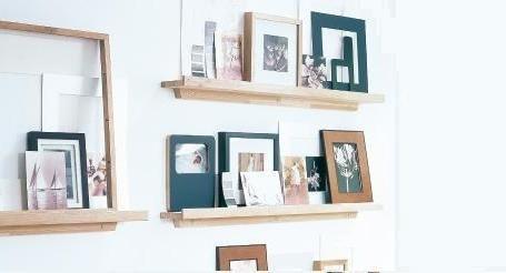 Fotolijst Wandplank Wit.Pin Op Living
