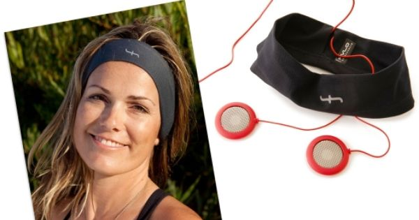 HVLO Headband Headphones for running