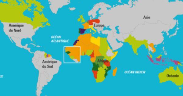 La Colonisation Les Empires Coloniaux En 1914 La Colonisation Europe Du Nord Amerique Du Sud