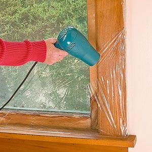 How To Seal Windows With Plastic Window Insulation Diy Sunroom Windows Diy Insulation
