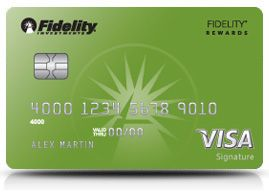 Fidelity Rewards Visa Signature Card Cash Rewards Credit Cards Rewards Credit Cards Small Business Credit Cards