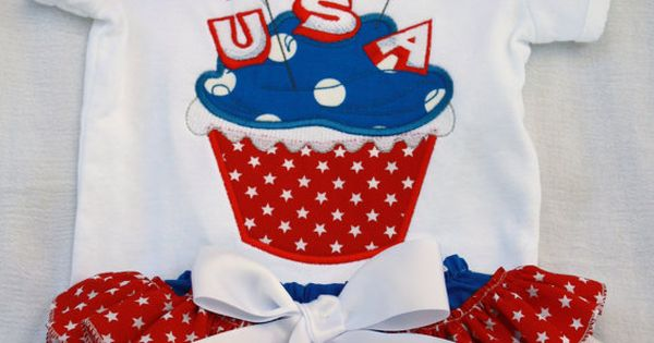 4th july cupcake cases