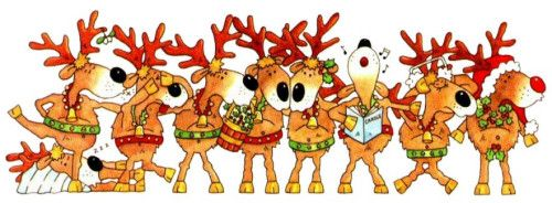 43+ Santa and reindeer clipart images ideas in 2021