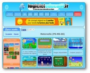 Logicieleducatif Fr Logiciel Educatif Jeux Educatifs En Ligne Jeu Educatif