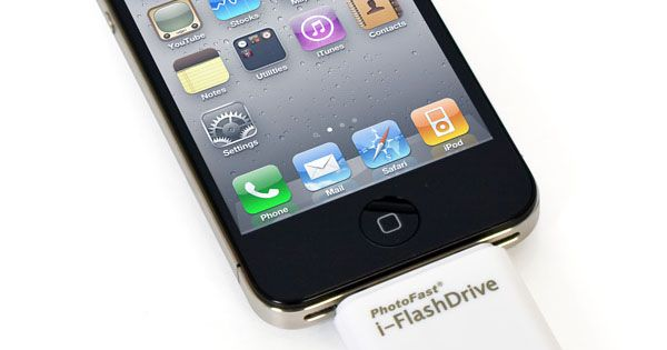 iFlashDrive – A USB Drive For Your iPad And iPhone