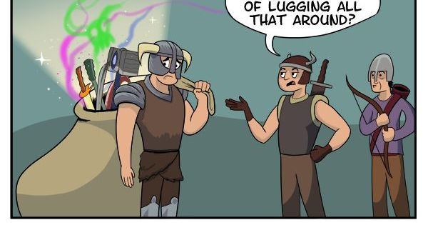 Skyrim Hoarders Comic Weapons The O Jays And Bags