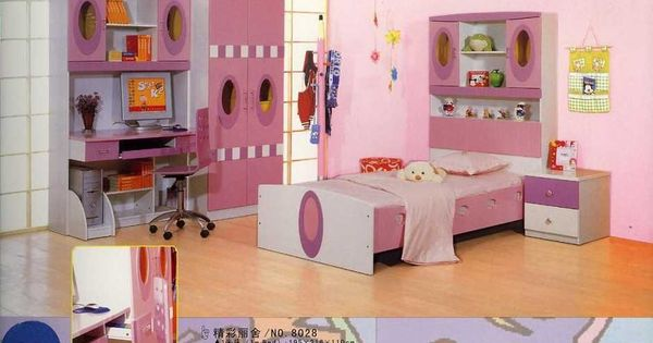 full size kids bedroom sets for large space