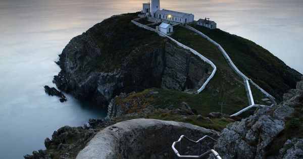 South Stack Lighthouse, Wales, UK. Thank you God I could visit this