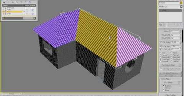 Model A Roof In 3dsmax With Avizstudio Tools Atiles Cg