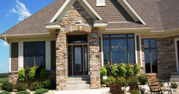 Exterior Home Design Front Of House Pinterest