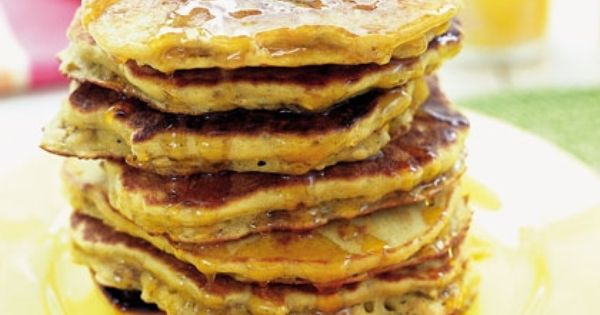 Oatmeal Pancakes {Recipes for Families with Kids}
