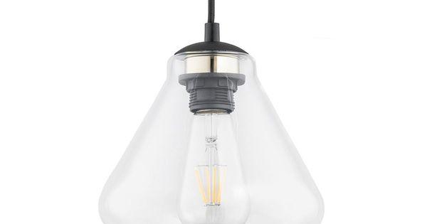 Lampa Wiszaca Decorato Szklana E27 Prezent Zyrandole Lampy Wiszace I Sufitowe W Atrakcyjnej Cenie W Sklepach Leroy Merlin Light Bulb Home Decor Decor