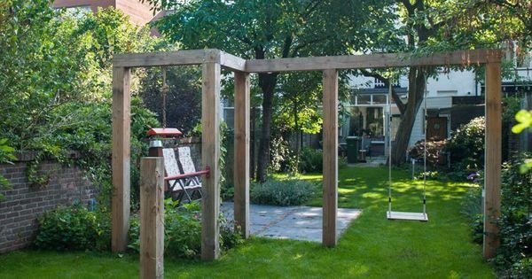Hoveniersbedrijf kerngroen voerde een volledige tuinrenovatie uit van de achtertuin van een - Pergola met intrekbaar canvas ...