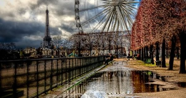 Ferris Wheel at the Tuileries in Paris, France. By Kay Gaensler beautiful